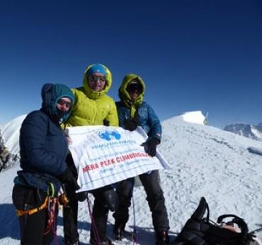 Mera Peak & Island Peak via Amphu Laptsa Trek